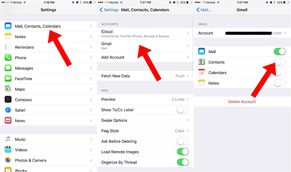 How To Transfer Contacts From Android To iPhone | Ubergizmo
