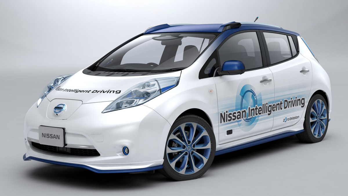 Nissan Self-Driving Cars Take To The Streets In February