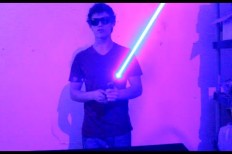 DIY 7W Laser Lightsaber Is A Step Closer To The Real Thing