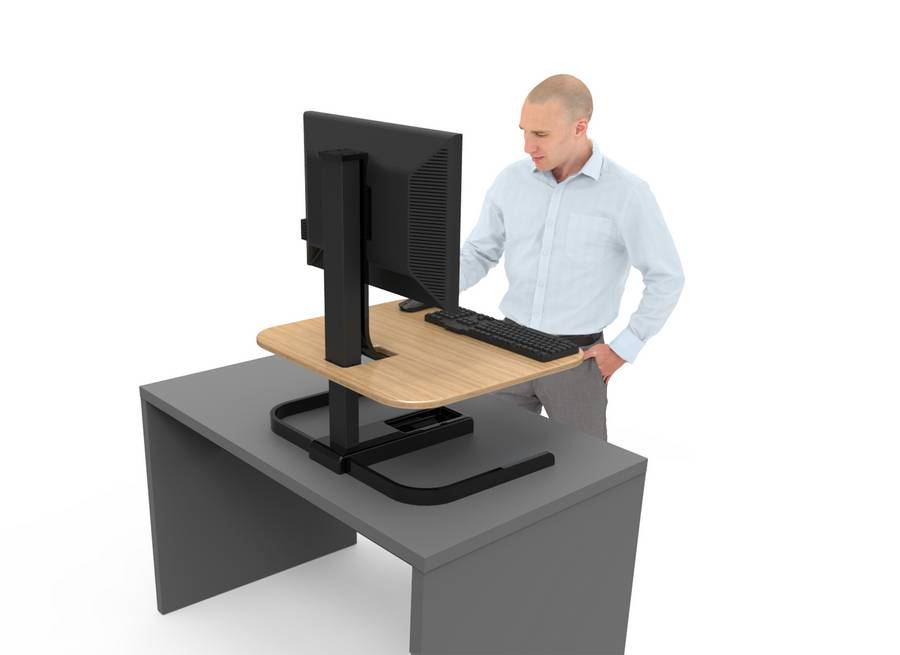 Most Part A Lot Of Standing Desks We Ve Seen Especially Those With Automation Are Expensive And Require You To Swap Out Your Old Desk For New One