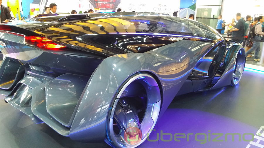 Chevrolet Fnr Concept Right From The Future Ubergizmo
