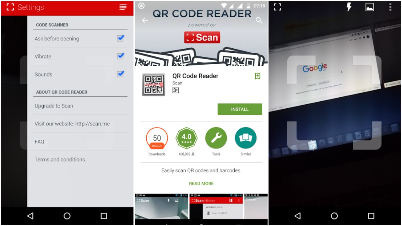How to scan QR Codes | Ubergizmo