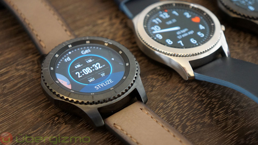 Samsung Gear S3: Hands-On Review | Ubergizmo
