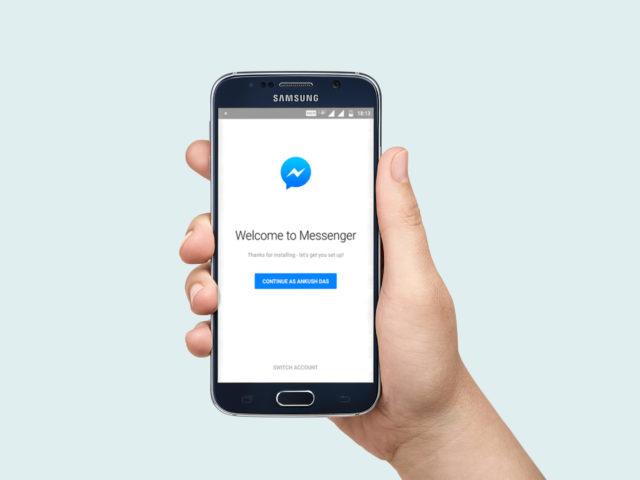 log out of Facebook messenger