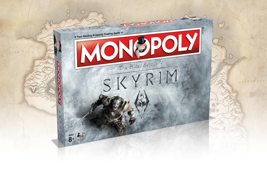 Skyrim-Themed Monopoly Set Will Be Arriving Next Year