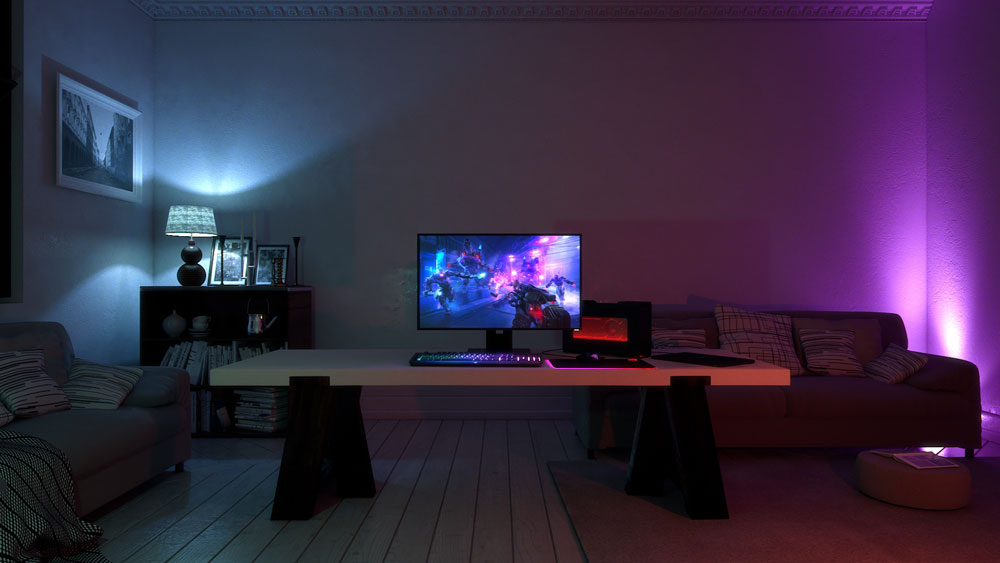 Razer S Project Ariana Pushes Ambient Lighting Immersion To