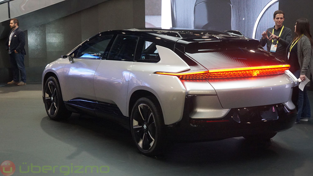 Faraday Future S Ff 91 Electric Car Has 1050hp And Even A Driverless Valet System