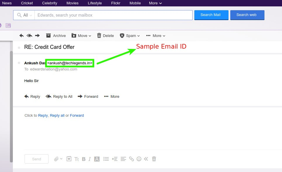 How to know if someone blocked you on yahoo mail