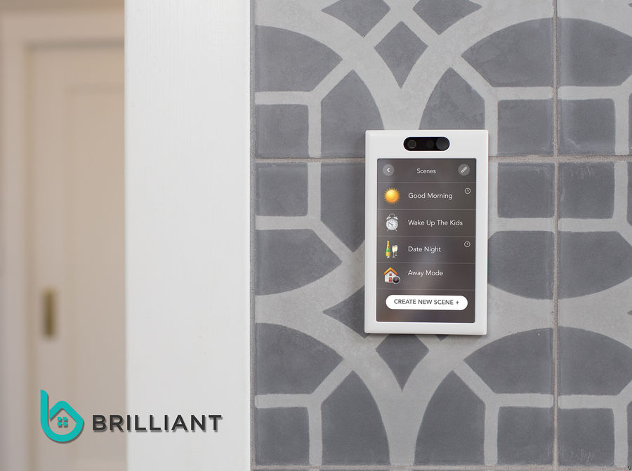 Brilliant Control, Smart Home Control with Touch Display and Voice