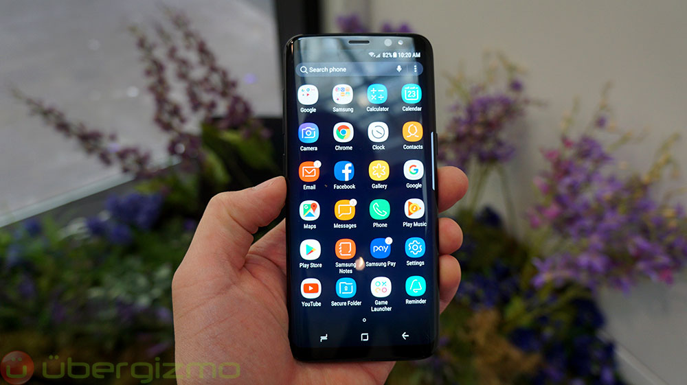 Samsung Galaxy S8 Specs & Speed
