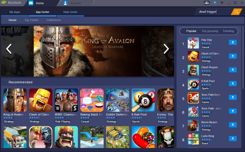 bluestacks apps and games
