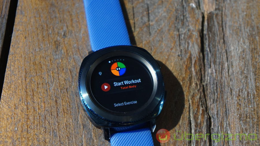 Samsung Gear Sport Review: Hands-on | Ubergizmo