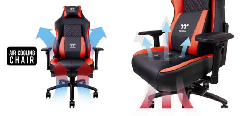 Thermaltake Launches Gaming Chair With A Built In Cooling