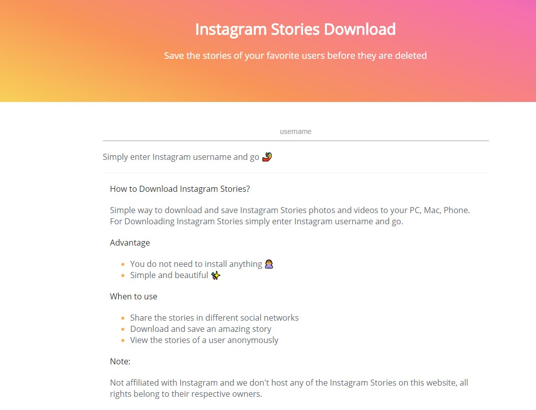 How to save instagram stories ubergizmo utilize a website to save instagram stories android ios ccuart Images