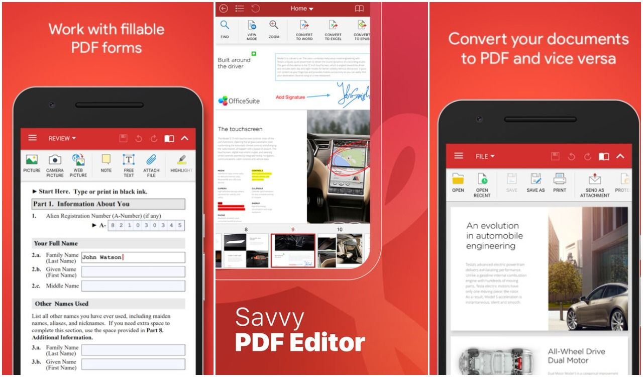 Best Free PDF Editors For PC, Mac, Linux, Android & iOS