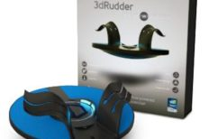 3dRudder Blackhawk Is A Foot Controller Designed For Virtual Reality