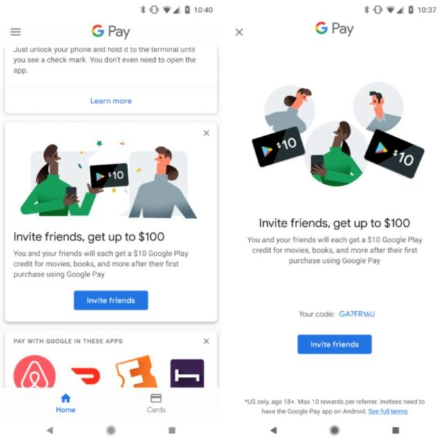 how to earn google play credit