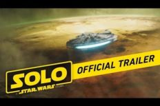 New Trailer for 'Solo: A Star Wars Story' Released