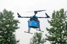 Food Delivery By Drones Now Being Tested In China