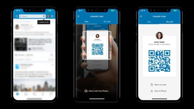 - linkedin 640x361 - LinkedIn Introduces QR Codes To Make Connecting Easier
