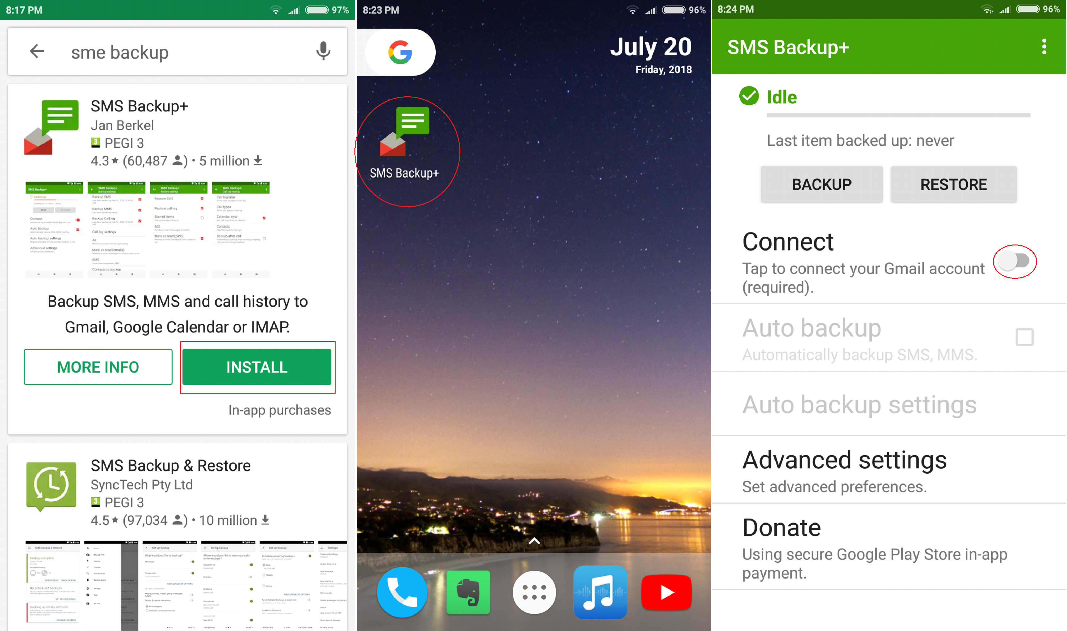 - a1 - How To Backup Text Messages From Android To Gmail