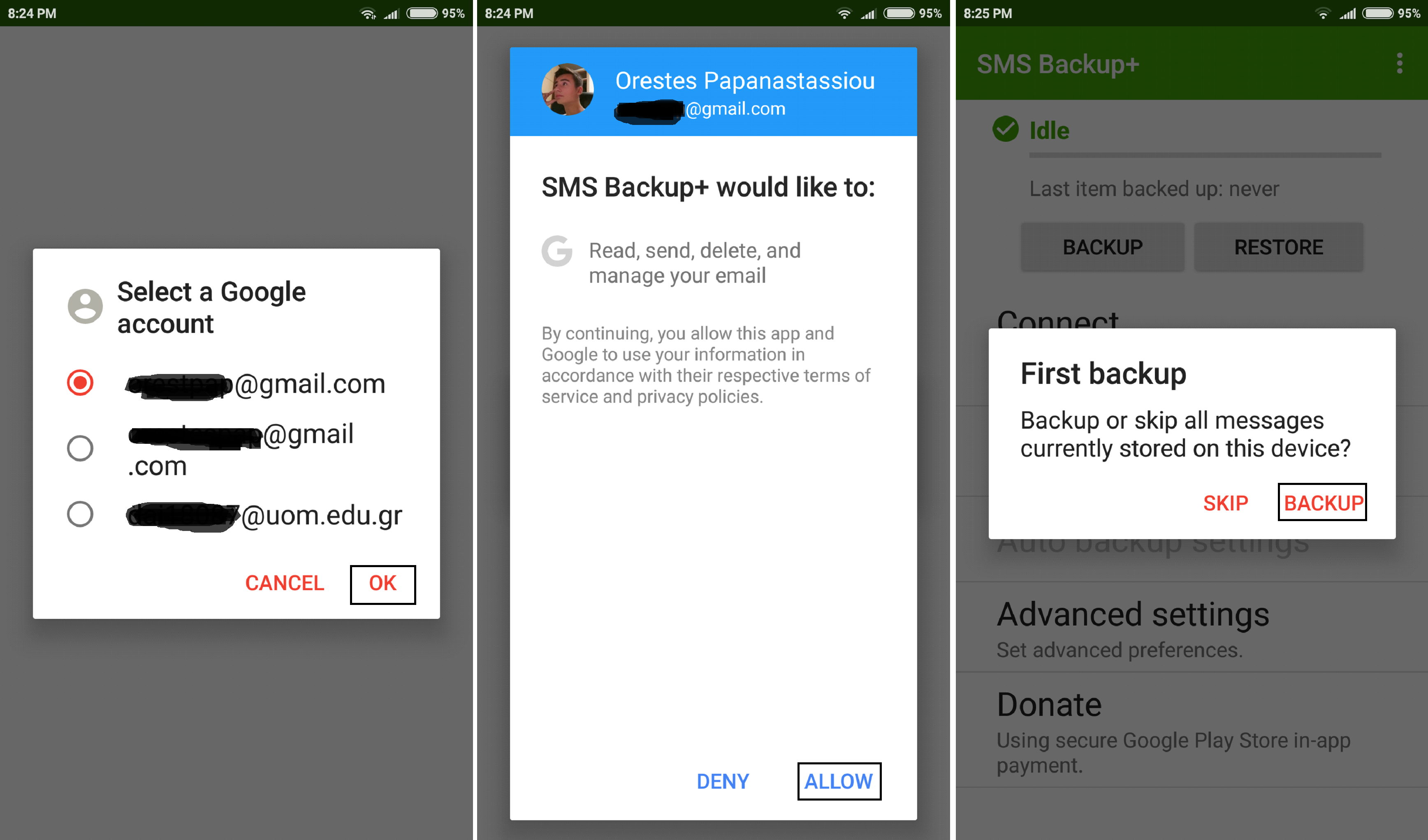 - a2 - How To Backup Text Messages From Android To Gmail