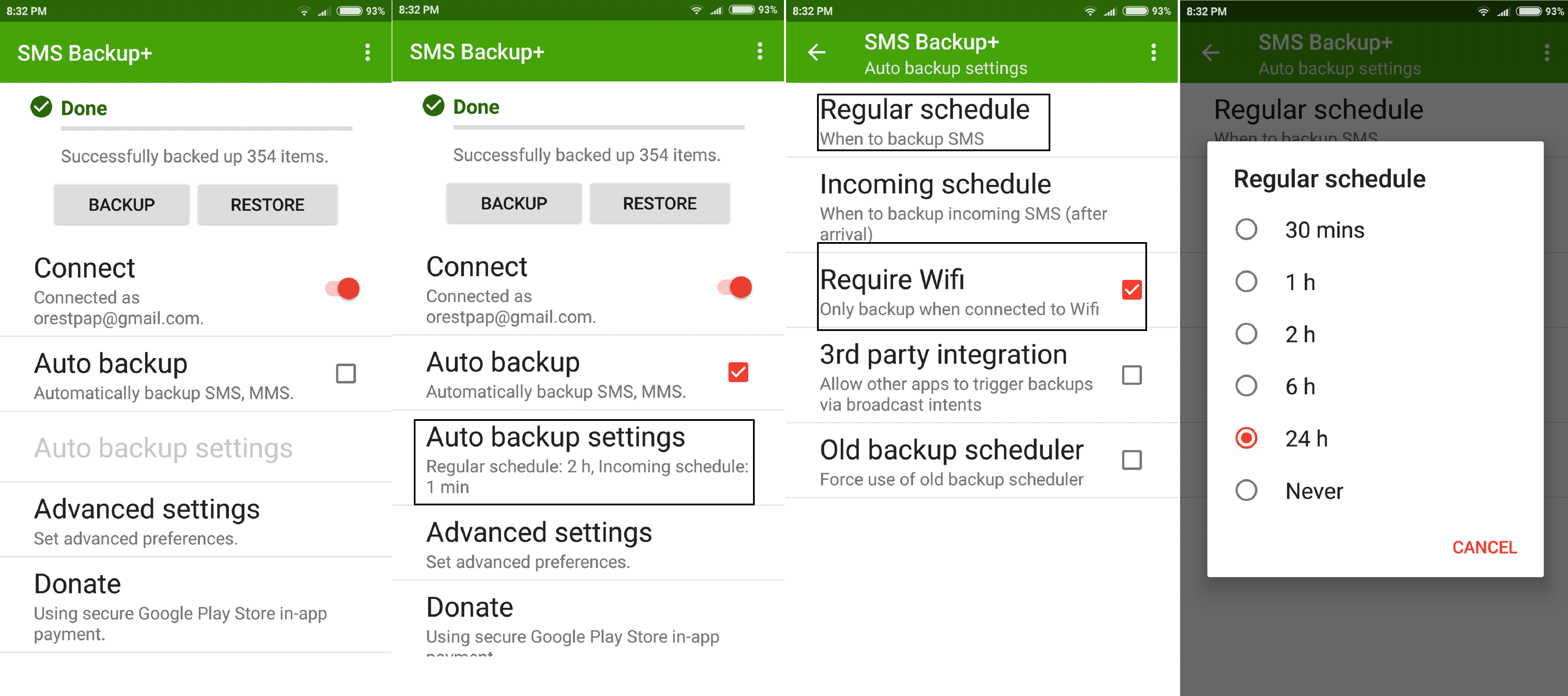 - a4 - How To Backup Text Messages From Android To Gmail