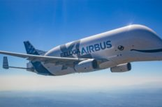 Massive Airbus BelugaXL Plane Completes First Flight
