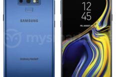 Coral Blue Samsung Galaxy Note 9 Render Leaked