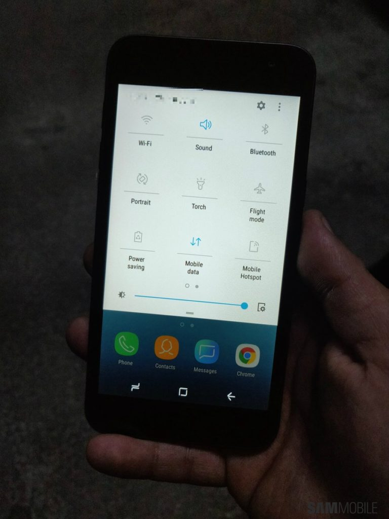 Samsungs First Android Go Phone Appears In Leaked Photos