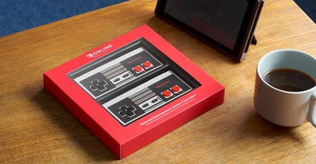 - nintendo switch nes controller 640x334 - Nintendo Unveils Official NES Controllers For The Switch