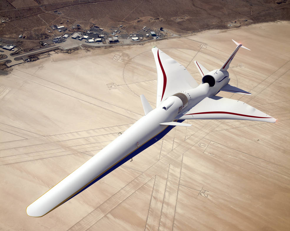 Nasa S Quiet Supersonic Jet Being Built By Lockheed Martin