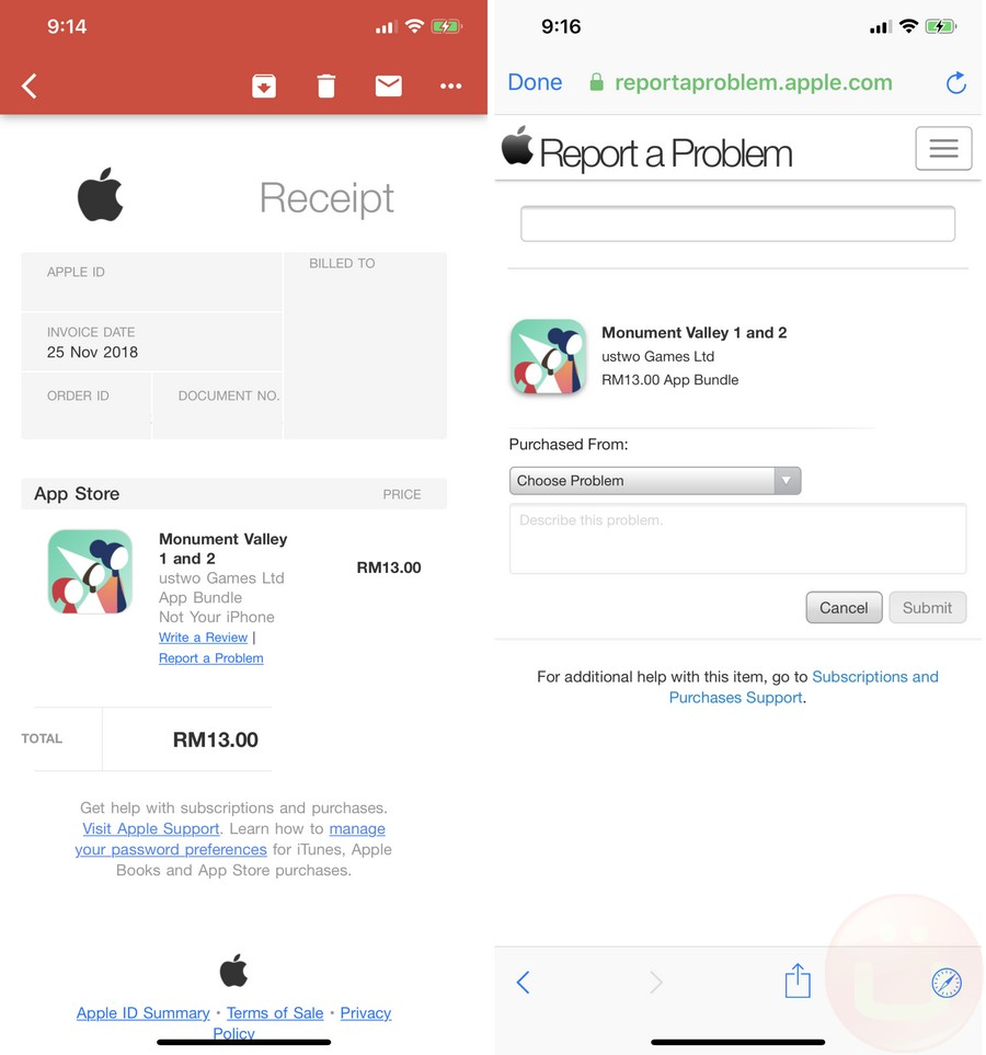 How To Get App Refunds For iPhone And iPad Apps | Ubergizmo