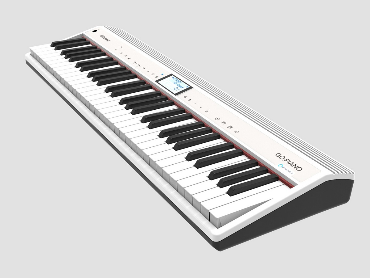 roland s go piano will come with alexa built into it ubergizmo. Black Bedroom Furniture Sets. Home Design Ideas