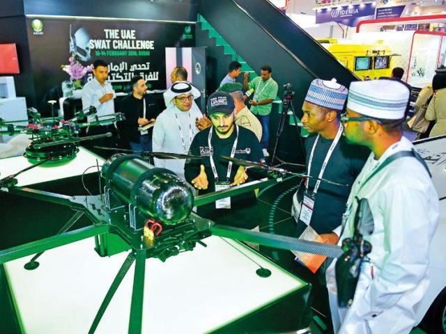 Dubai Police's Hydrogen Drone Can Fly For Three Hours
