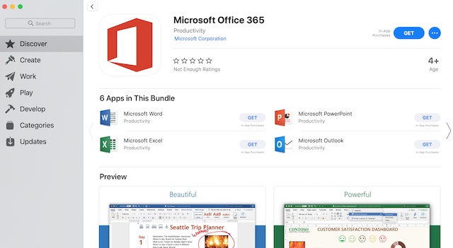 Microsoft Office Is Finally Available From The Mac App Store
