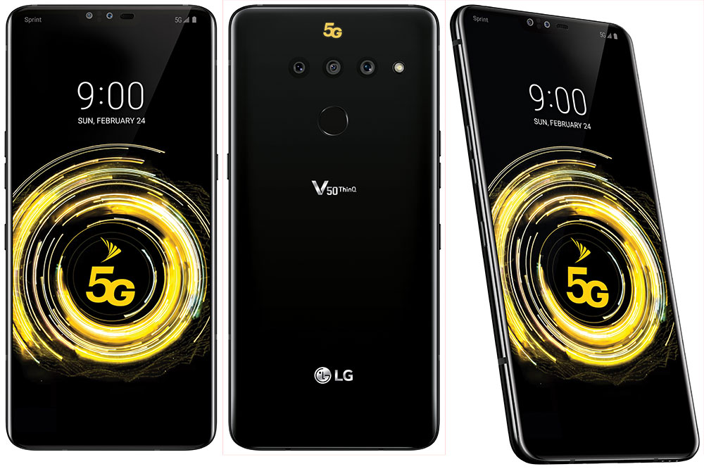 New LG G8 and LG V50 Smartphones Announced | Ubergizmo