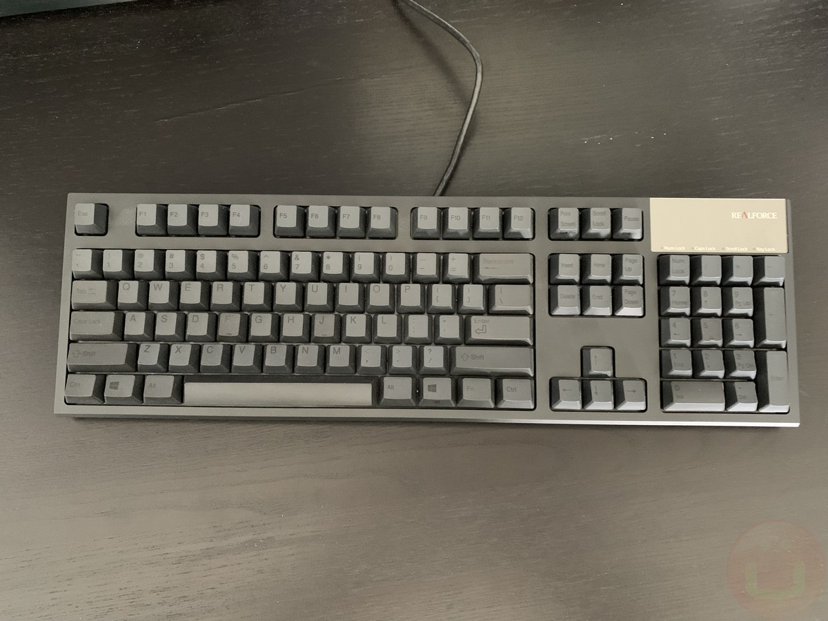 - topre realforce review 1 - Topre Realforce R2S-USV-BK Mechanical Keyboard Review