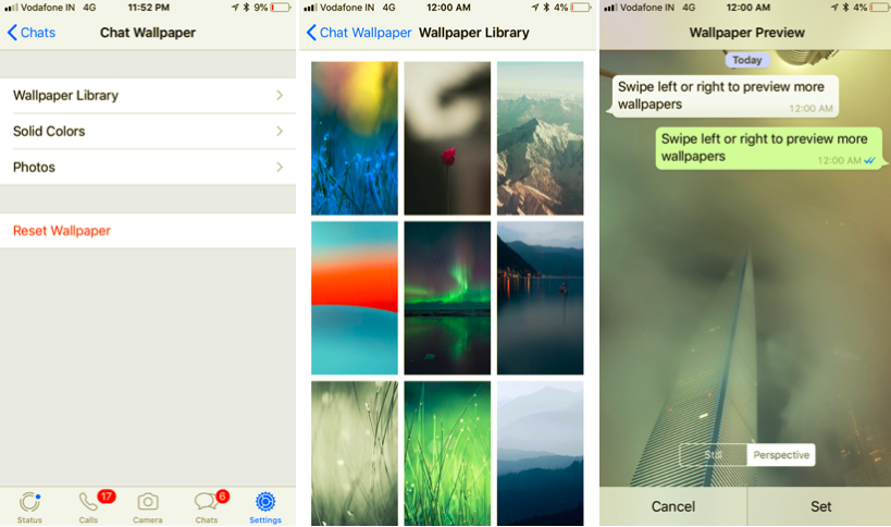 How To Change WhatsApp Wallpaper (iPhone)