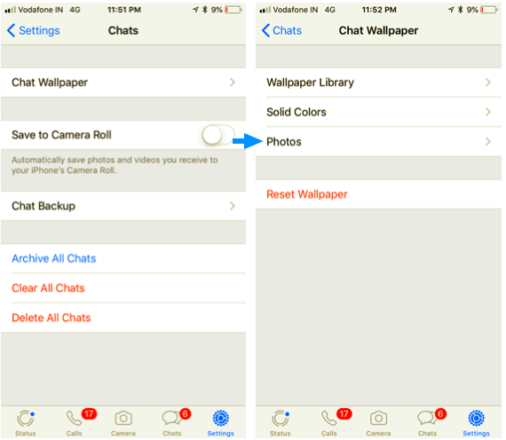 How To Change Whatsapp Wallpaper Iphone Ubergizmo