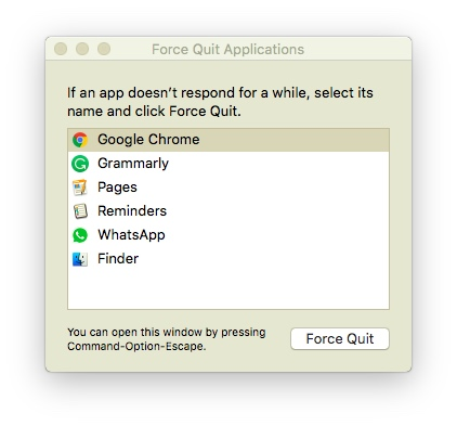 The Very Cool Stuff: How to Kill/Force Close Apps on Mac