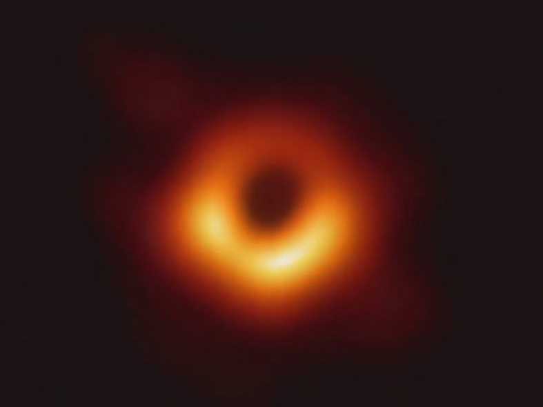 History Made As First Black Hole Photo Gets Captured ...