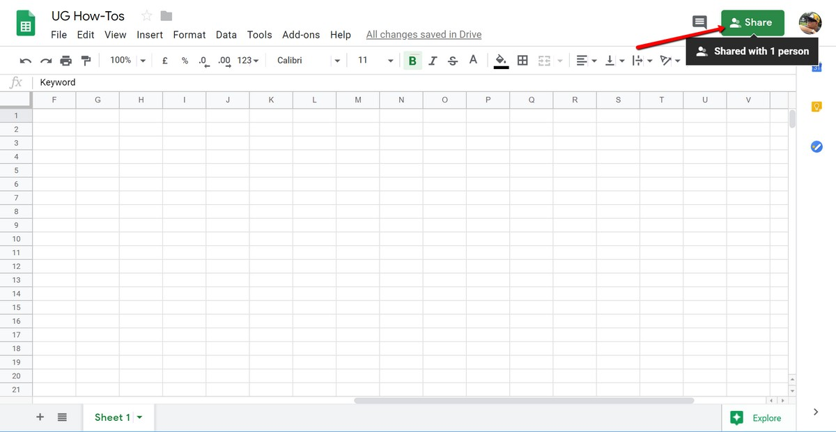 How To Protect Your Google Sheets | Ubergizmo