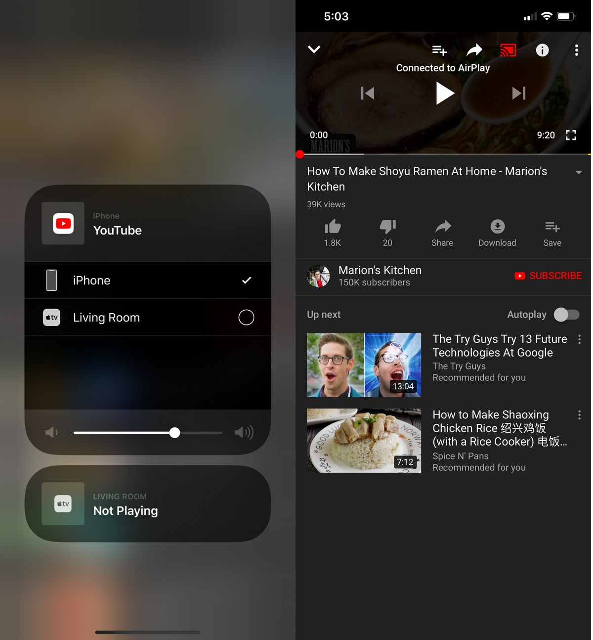 How To Mirror Your iPhone To An Apple TV | Ubergizmo
