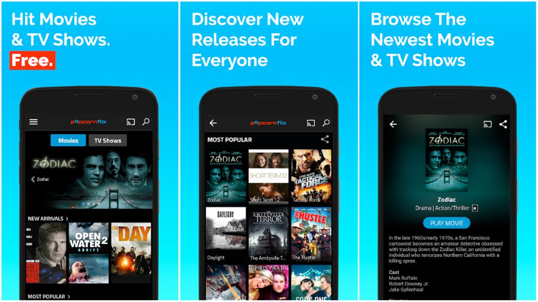 free watch movies on mobile phone