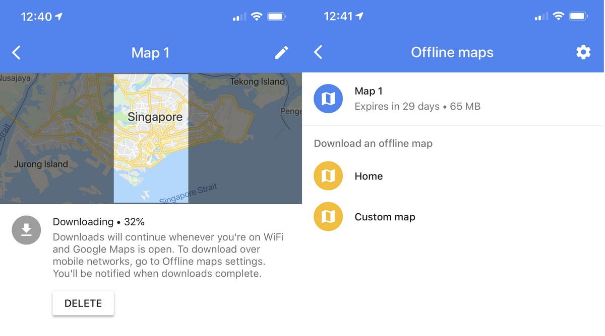 How To Use Google Maps Offline | Ubergizmo